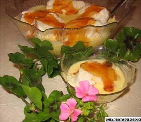 Crème au géranium - Cuisine des fleurs